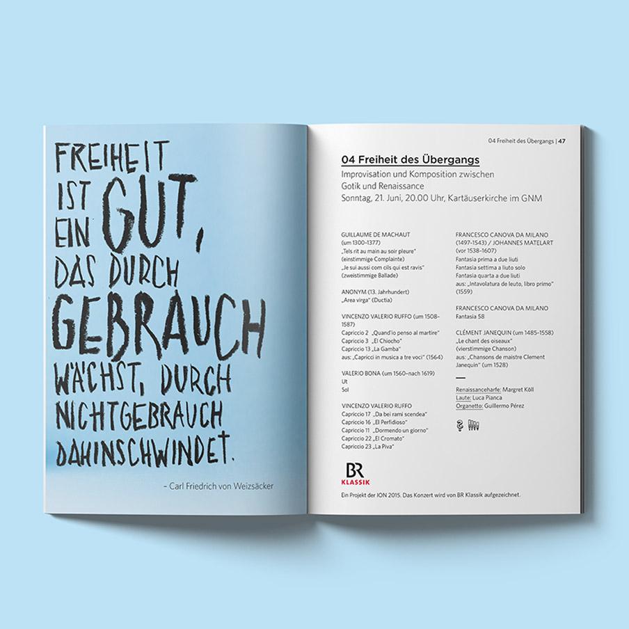 Internationale Orgelwoche Nürnberg – Festival für Klassische und Geistliche Musik. Festivalkampagne, Logolettering, Key Visual, Corporate Design von ELLIJOT