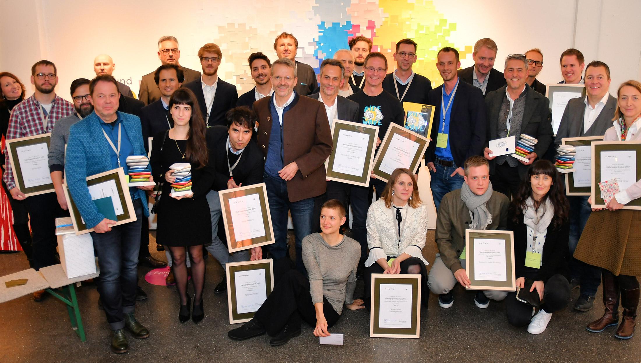 2. Platz für ELLIJOT beim Gmund Naturpapier Award 2017