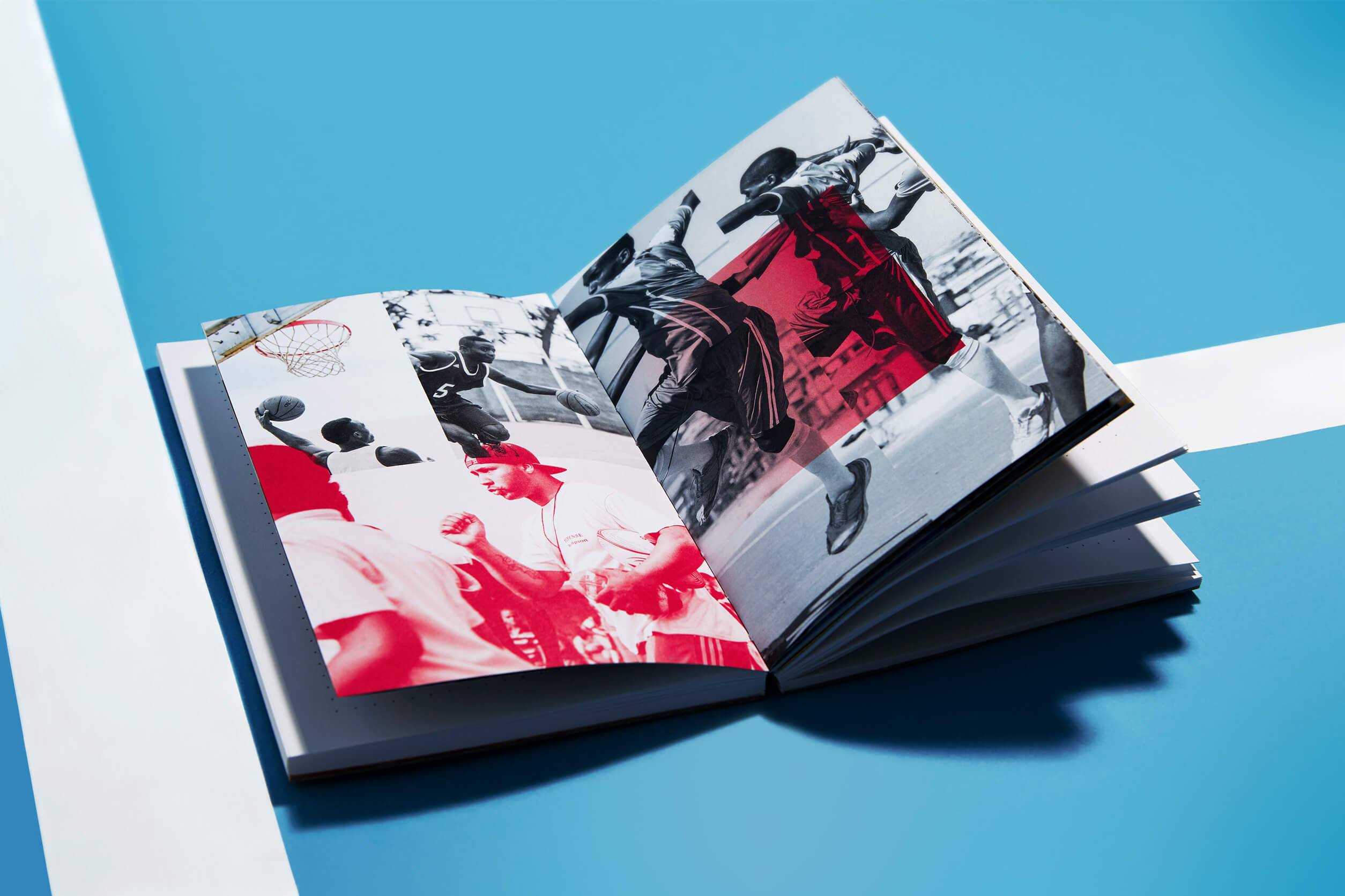 adidas idea book '15 – Nachhaltiges Corporate Notizbuch – Brand Communication, Corporate Publishing, Konzept und Design by ELLIJOT, Fotografiert von EyeCandy Berlin