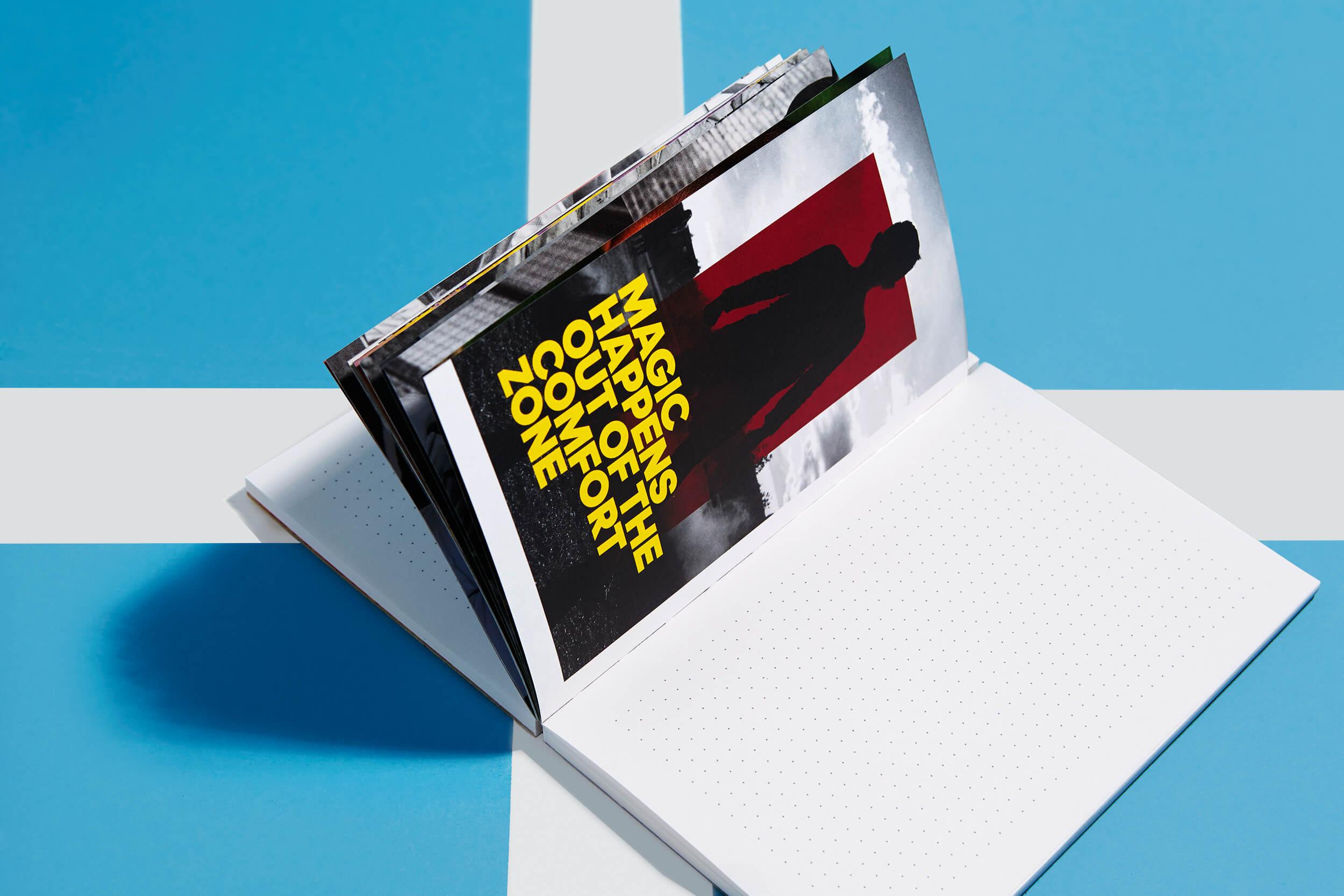 adidas idea book '15 – Nachhaltiges Corporate Notizbuch – Brand Communication, Corporate Publishing, Konzept und Design by ELLIJOT, Fotografiert von EyeCandy Berlin