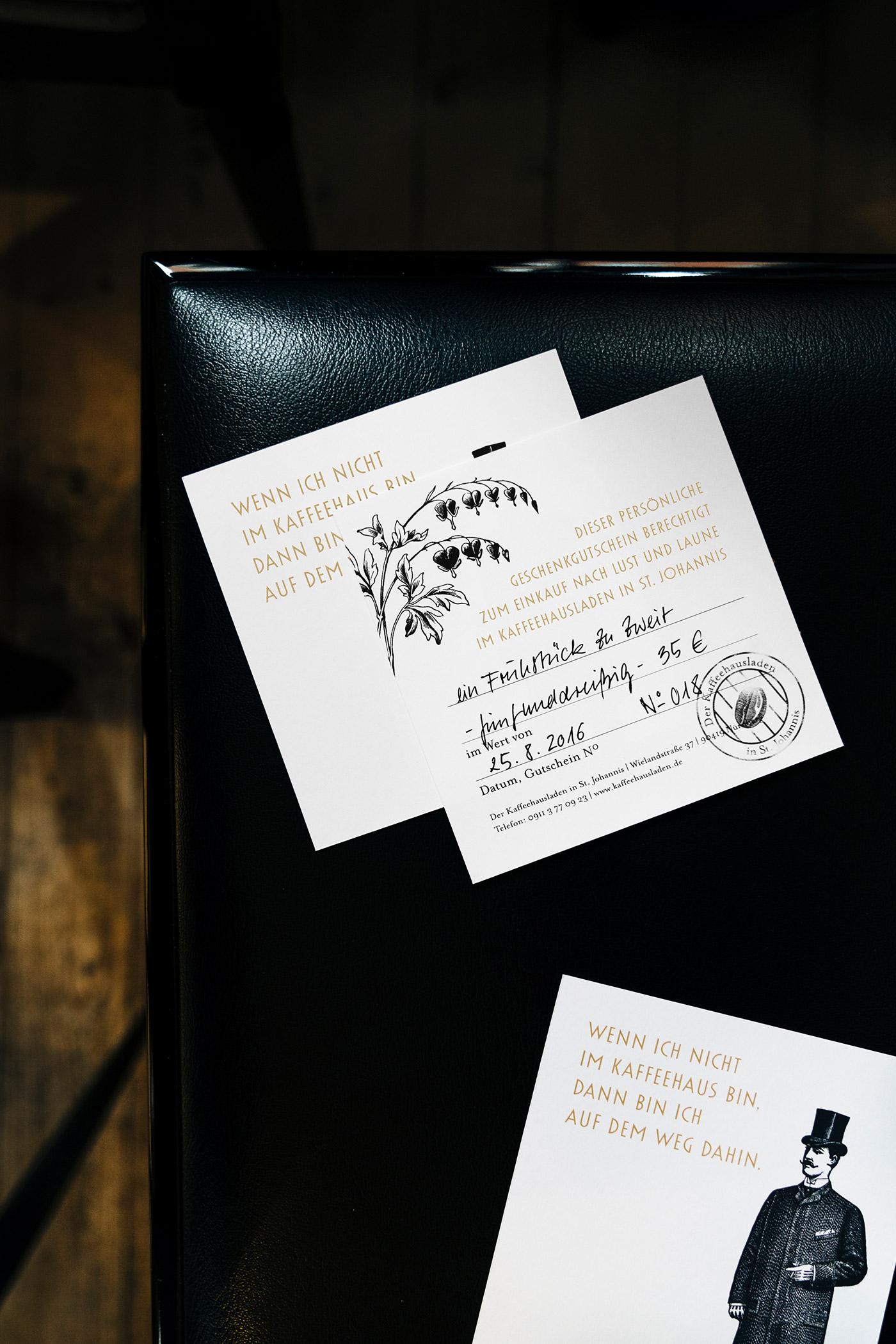 Der Kaffeehausladen in St. Johannis – Logo, Corporate Design, Getränkekarte, Webdesign von ELLIJOT
