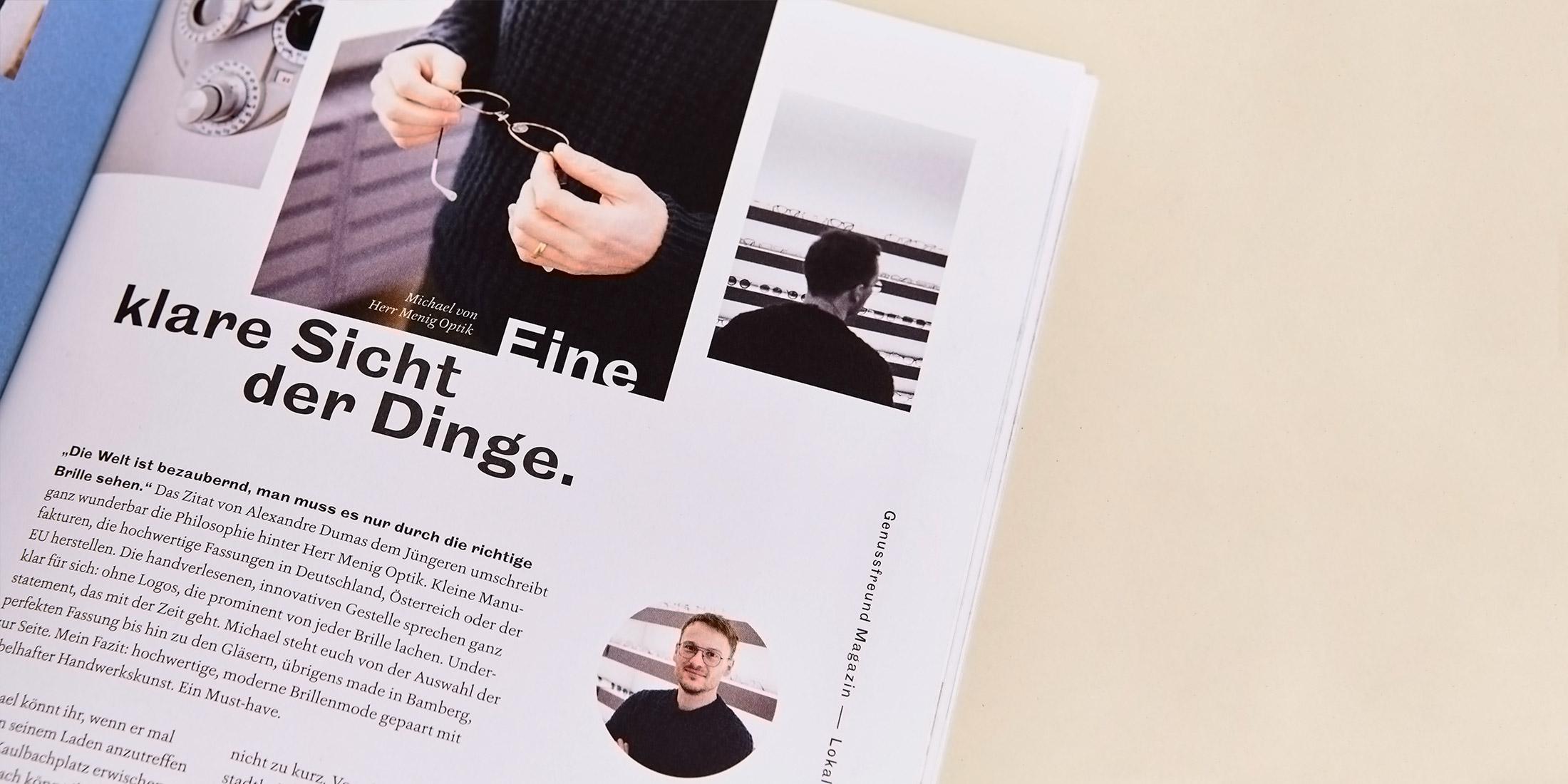 Der Genussfreund – Magazine von ELLIJOT,