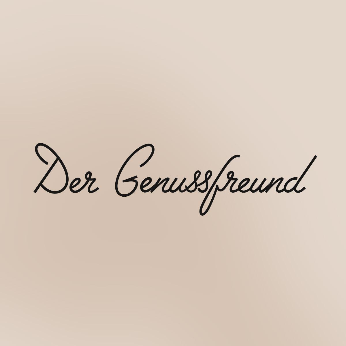 Der Genussfreund – Logo Lettering von ELLIJOT,