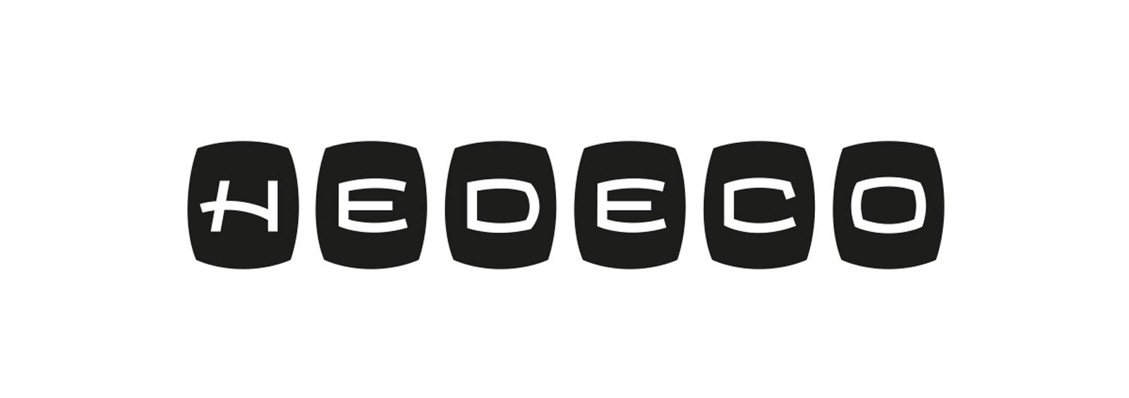 Hedeco Lichtmesser Logo Lettering